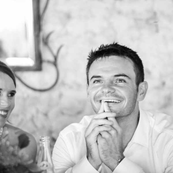 The wedding speeches during a wedding in France. The best wedding photography. Wedding photographer, Thomas Frost.