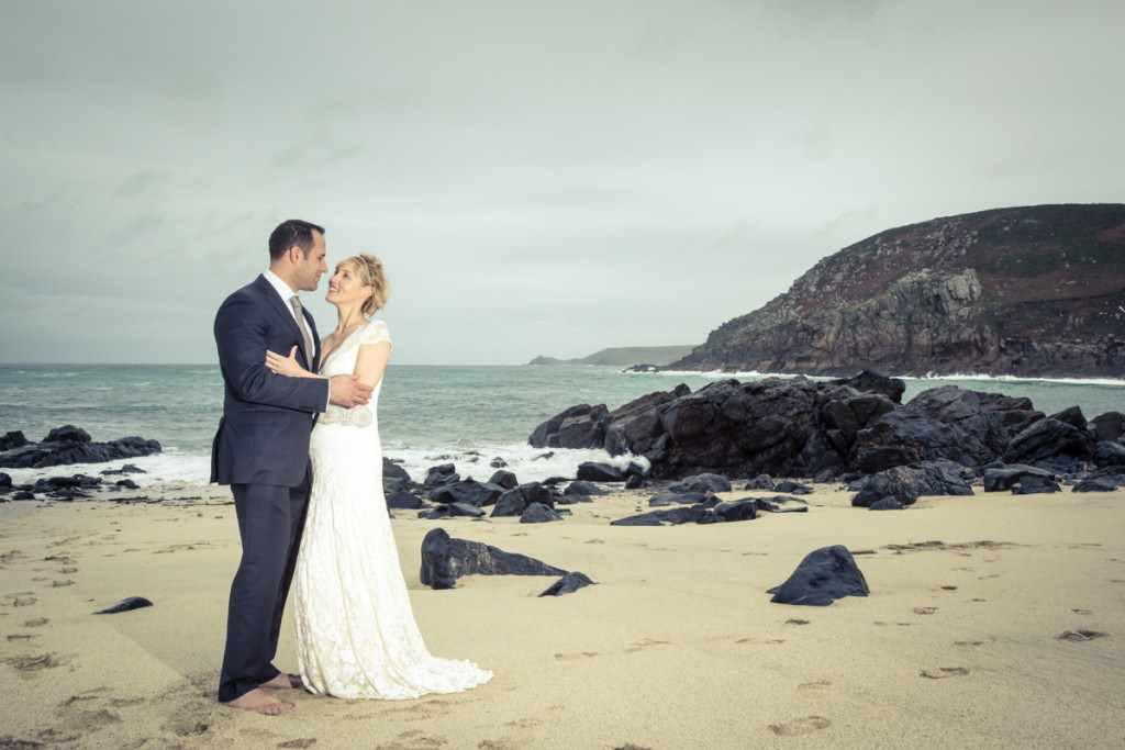 elope in cornwall, elopement, wedding.