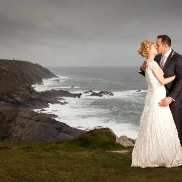 elope in cornwall, elopement, wedding.
