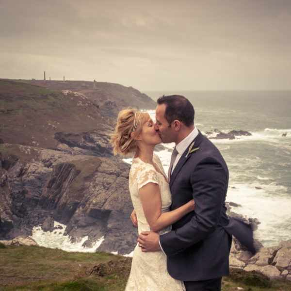 Cornwall Wedding photography, Tin Mine, Poldark, Creative wedding.