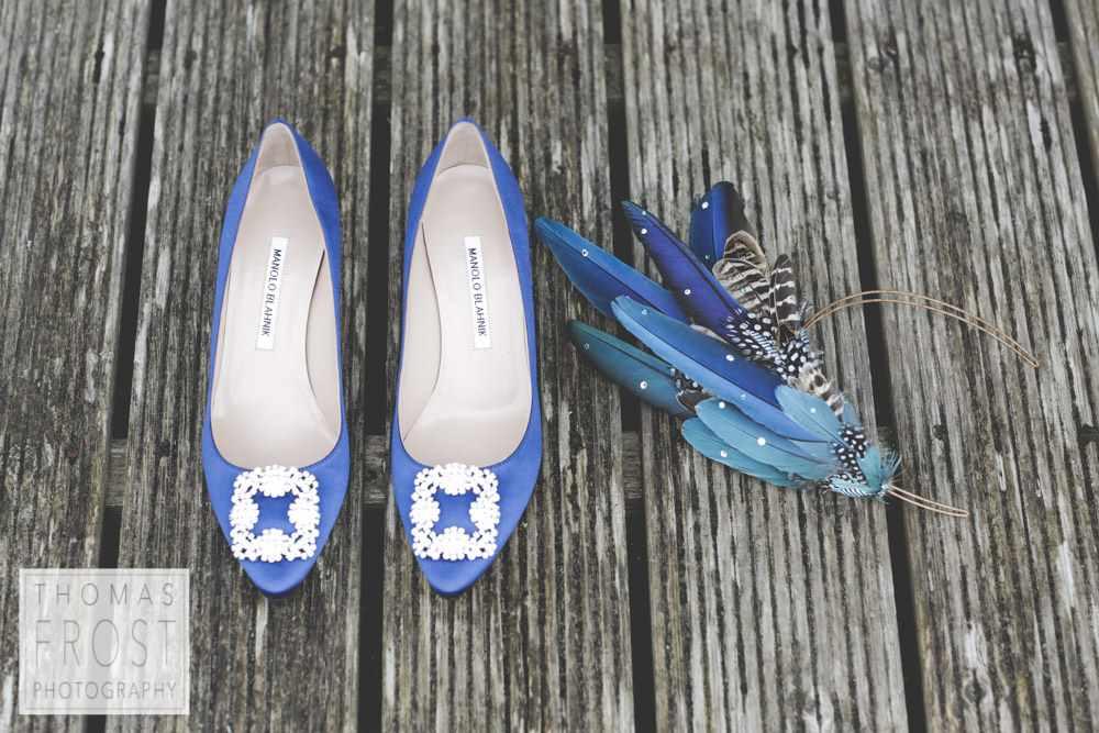 Bo Ho Cornwall - Blue Shoes
