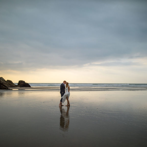 Summer House, Perranporth Wedding