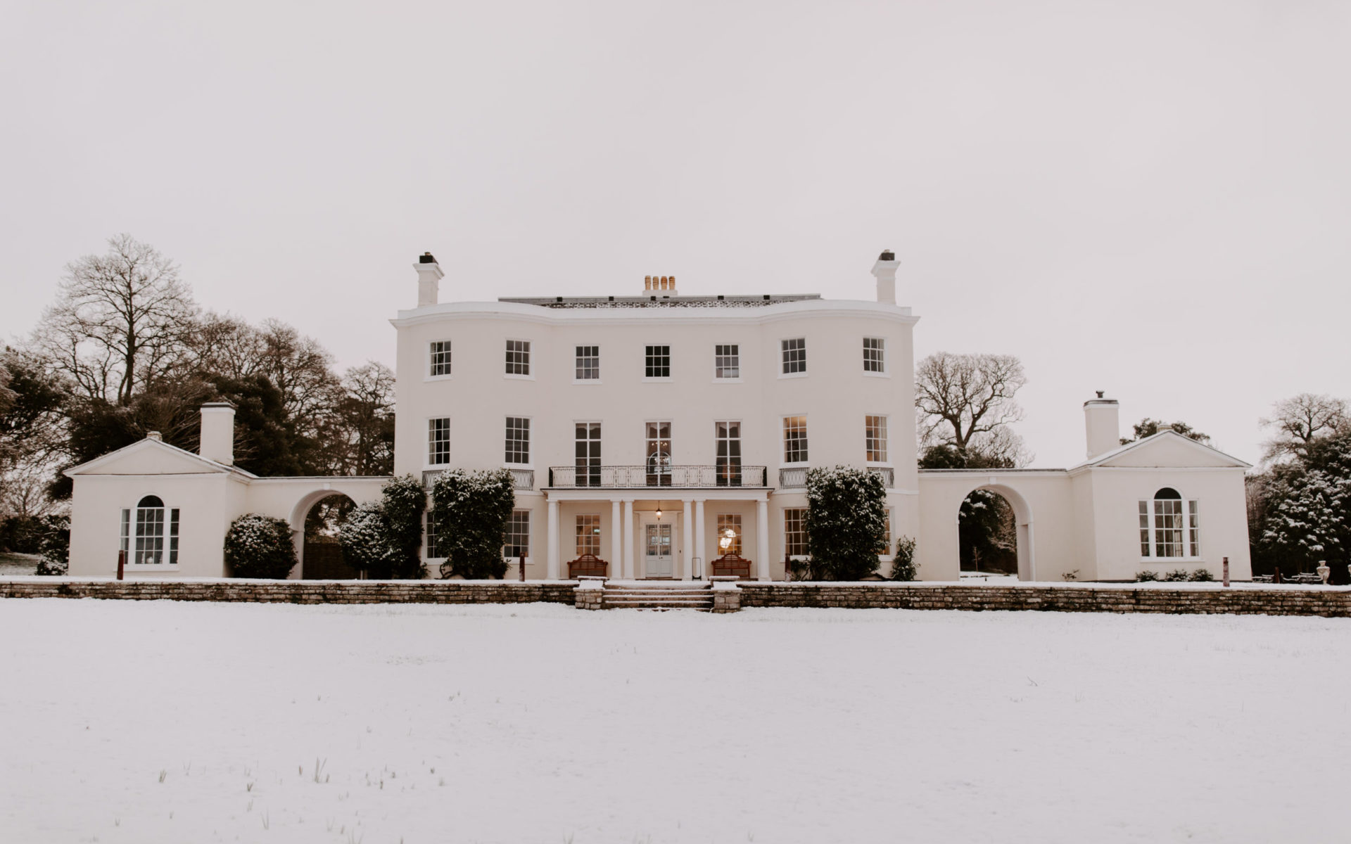 Rockbeare Manor Winter Wedding