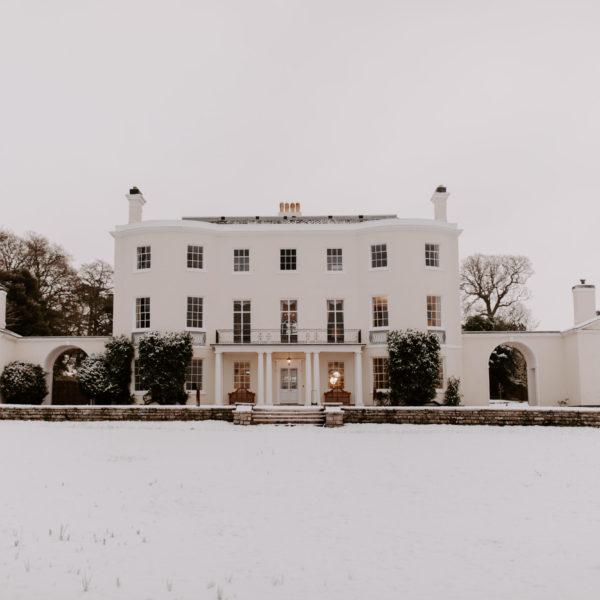 Rockbeare Manor Winter Wedding