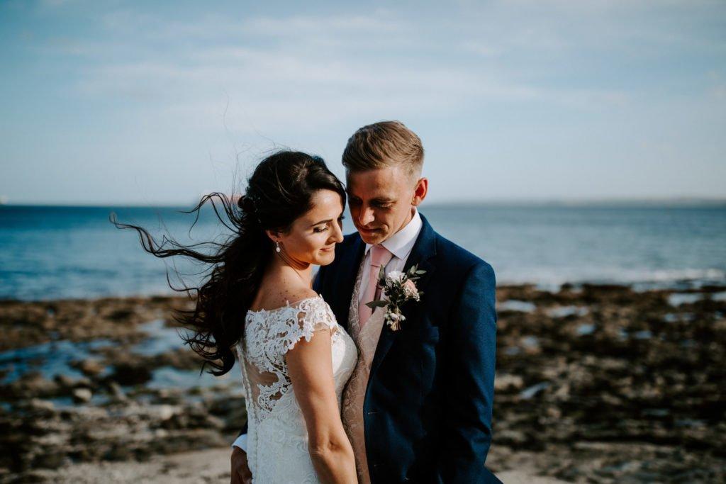Falmouth Hotel Wedding - Beach Shots