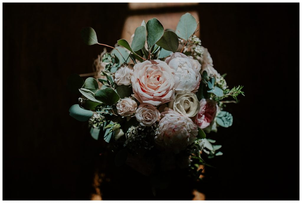 Launcells Barton Wedding flowers
