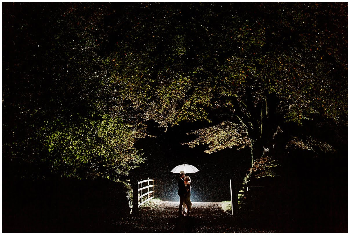 Trevenna Barn Wedding Photography night photos