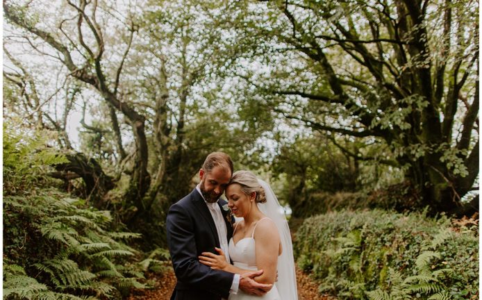 Trevenna Barn Wedding Photography romantic photos