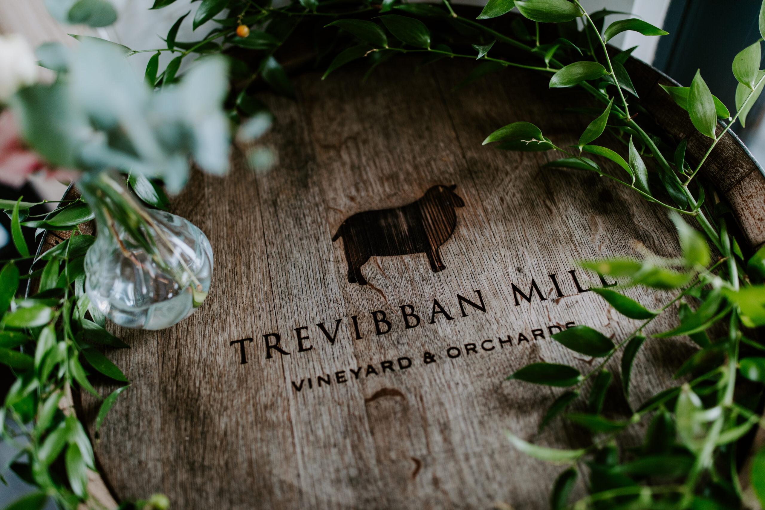 Trevibban Mill Wedding logo