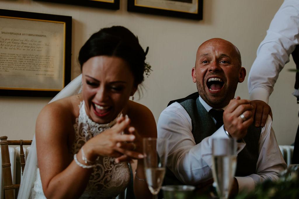 Storytelling wedding photography at Port Eliot