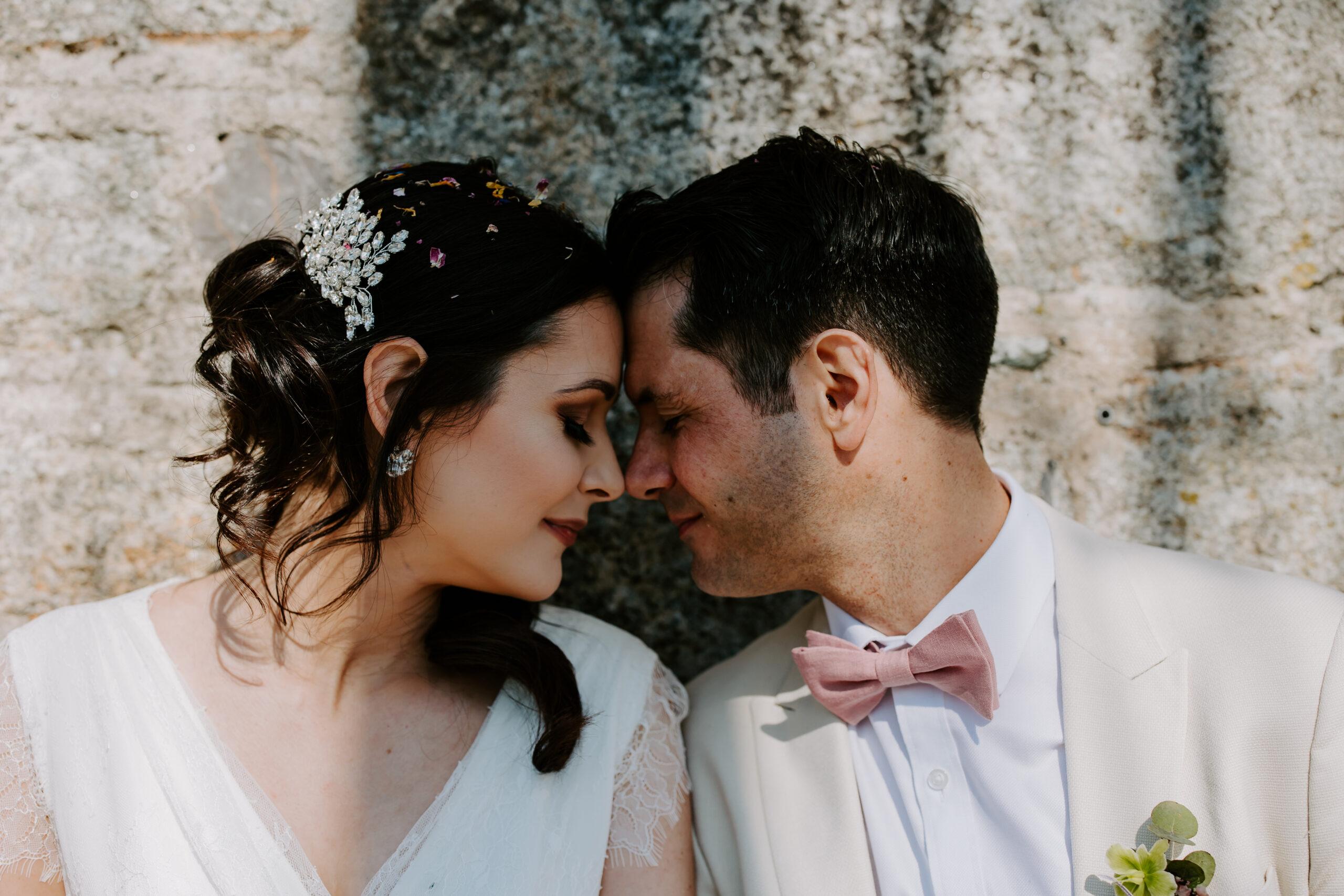 romantic elopement wedding in Cornwall