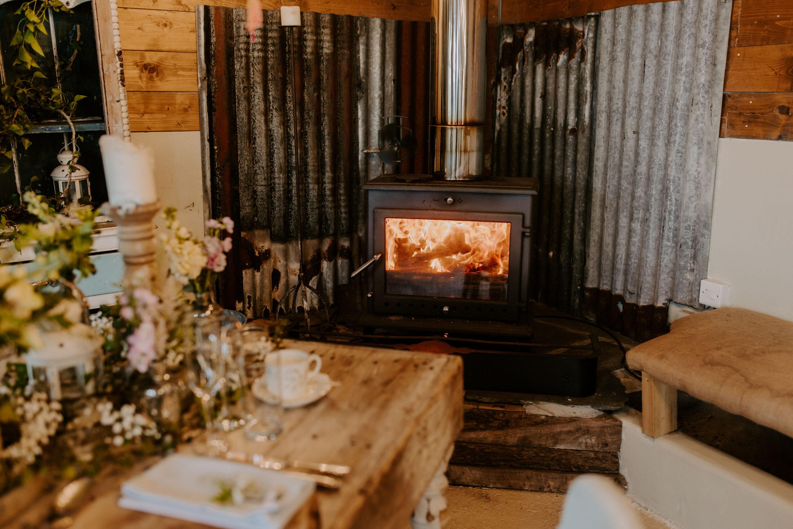 cosy wedding venue in Cornwall
