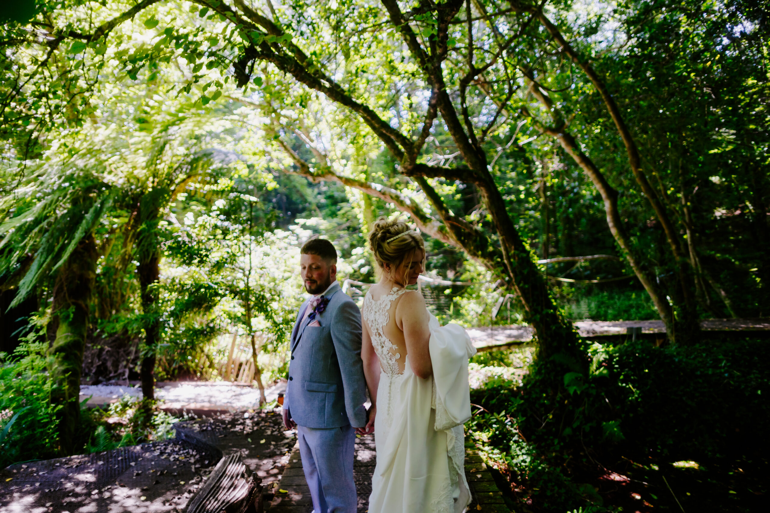 Tremenheere wedding in Cornwall